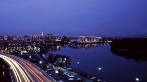 Potomac Night Backgound
